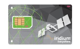 Iridium kontantkort