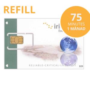 Iridium refill