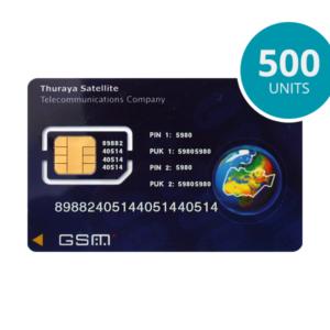 Thuraya kontantkort